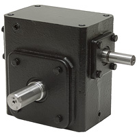 Cast Iron Shaft Input Gear Reducers