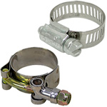 T-Bolt & Worm Gear Hose Clamps