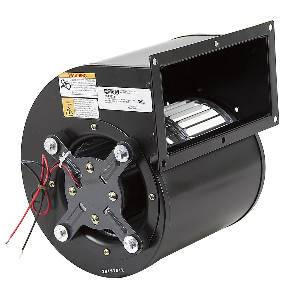 552 Cfm 12 Volt Dc Centrifugal Blower Rotom R7 Rb522 16