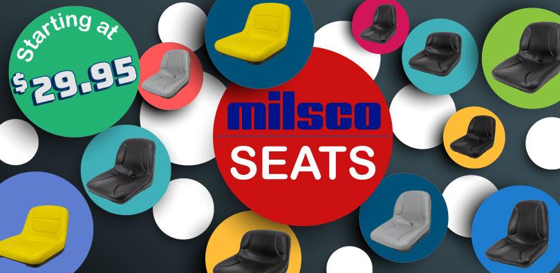 Milsco Seat Hardware : Surplus center
