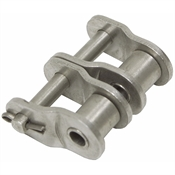 #35 2 Offset Nickel Plated Link