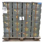 30 Cal 7.62 mm Ammo Box Pallet of 240 pieces at $5.00/Each