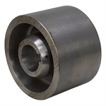 "10.25"" x 7"" Steel Flat Belt Pulley w/Keyway"