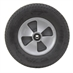 "12"" x 3.25"" Solid Rubber Turf Pro Wheel Assembly - Alternate 1"