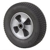 "12"" x 3.25"" Solid Rubber Turf Pro Wheel Assembly"