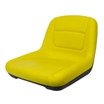 YELLOW MILSCO VINYL CUSHION SEAT