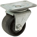 "3"" DIA. X 1 13/16"" SWIVEL PLATE CASTER"