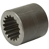 "1.5"" 17T Splined Coupling G & G Mfg"