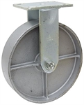 "5"" x 2"" Rigid Steel Plate Caster"