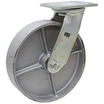 "6"" x 2"" Swivel Steel Plate Caster"
