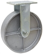 "8"" x 2"" Rigid Steel Plate Caster WC6680R-01-STL"
