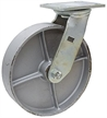 "8"" x 2"" Swivel Steel Plate Caster WC6680-01-STL"