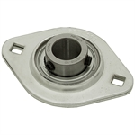 "5/8"" 2 Bolt Stamped Steel Flange Bearing"