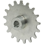"17 Tooth 7/16"" Bore 410 Pitch Roller Chain Sprocket"