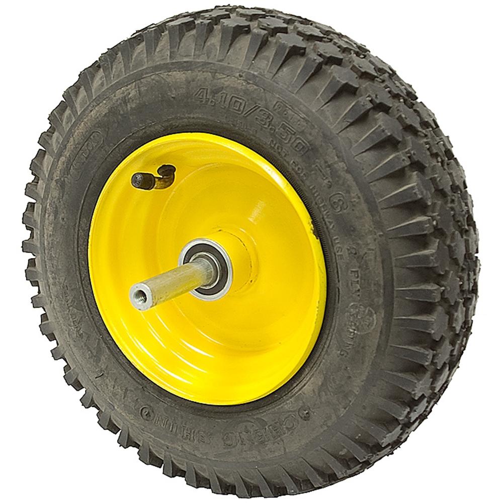 Three Wheeler Tires : Tire wheel assembly w axle brake drum