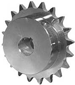 "20 Tooth 7/8"" Bore 50 Pitch Roller Chain Sprocket"
