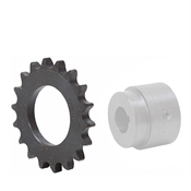 25 Tooth 50 Pitch Series X Weld-On Roller Chain Sprocket 50X25B