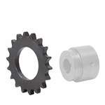 10 Tooth 60 Pitch Series V Weld-On Roller Chain Sprocket 60V10B