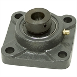 "1/2"" 4 Bolt Flange Bearing w/Lock Collar"