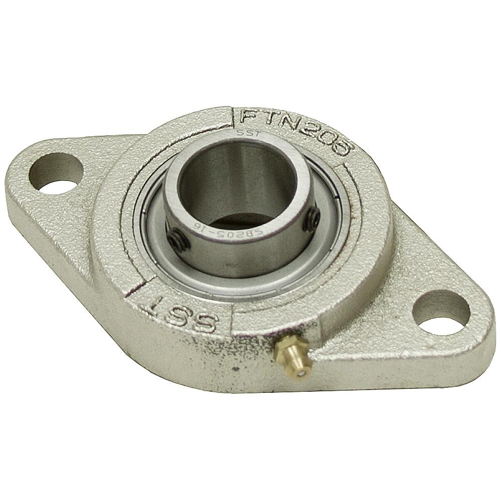 1 2 bolt flange bearing nickel plate narr housing for House bearing