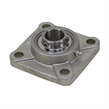 "1"" Bore Stainless Steel 4 Bolt Flange Bearing"