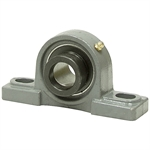 "1-1/8"" Pillow Block Bearing w/Lock Collar HCP206-18"