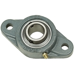 "1-1/4"" 2 Bolt Flange Bearing 206 Housing"
