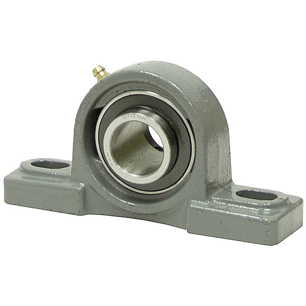 1 1 4 pillow block bearing w lock collar 206 housing a for House bearing