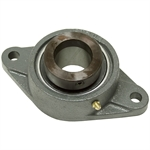"1-1/4"" 2 Bolt Flange Bearing w/Lock Collar 207 Housing"