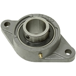 "1-1/4"" 2 Bolt Flange Bearing 207 Housing"