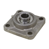 "1-1/4"" Bore Stainless Steel 4 Bolt Flange Bearing"