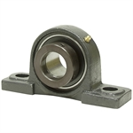 "1-1/4"" Pillow Block Bearing w/Lock Collar 207 Housing"