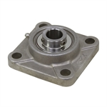 "1-3/8"" Bore Stainless Steel 4 Bolt Flange Bearing"
