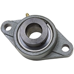 "1-7/16"" 2 Bolt Flange Bearing w/Lock Collar"