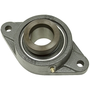 "1-7/8"" 2 Bolt Flange Bearing w/Lock Collar HCFT210-30"