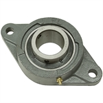 "2"" 2 Bolt Flange Bearing 211 Housing"
