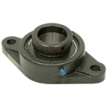 "2-3/16"" Bore 2 Bolt Flange Bearing w/Lock Collar"
