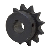 "12 Tooth 5/8"" Bore 40 Pitch Roller Chain Sprocket"
