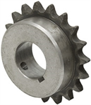 "26 Tooth 1-7/16"" Bore 40 Pitch Roller Chain Sprocket"