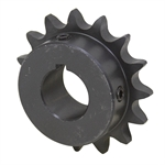 "10 Tooth 7/8"" Bore 50 Pitch Roller Chain Sprocket 50BS10H-7/8"