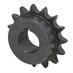 "17 Tooth 1-7/16"" Bore 50 Pitch Roller Chain Sprocket 50BS17H-1-7/16"
