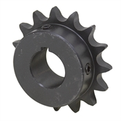 "18 Tooth 1-3/16"" Bore 50 Pitch Roller Chain Sprocket 50BS18H-1-3/16"