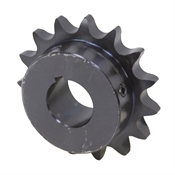 "14 Tooth 1"" Bore 60 Pitch Roller Chain Sprocket 60BS14H-1"