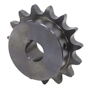 "20 Tooth 1-1/8"" Bore 80 Pitch Roller Chain Sprocket 80BS20H-1-1/8"