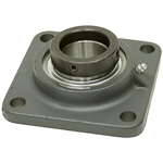 50 mm 4 Bolt Flange Bearing w/Lock Collar