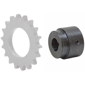 "1-1/16"" Bore Series W Weld-On Roller Chain Sprocket Hub W1-1/16B"