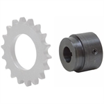 "5/8"" Bore Series X Weld-On Roller Chain Sprocket Hub X5/8B"