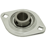 "3/4"" 2 Bolt Stamped Steel Flange Bearing"