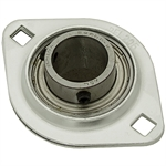 "1"" 2 Bolt Stamped Steel Flange Bearing"