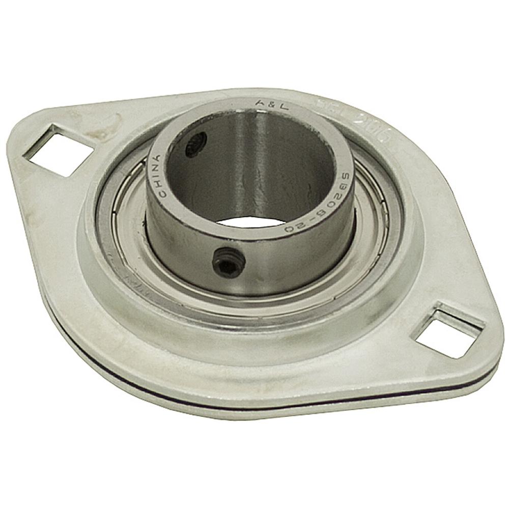 Stamped Steel Flanges : Quot bolt stamped steel flange bearing mount